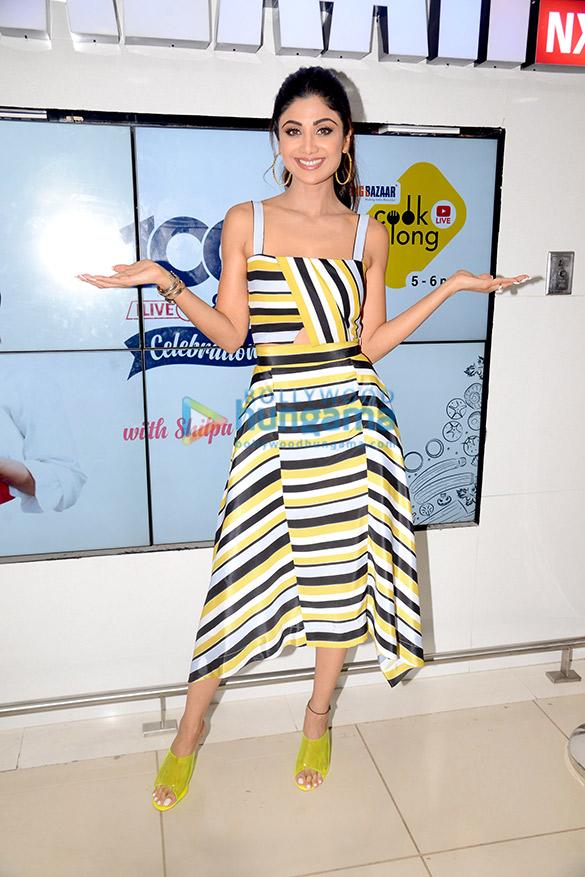 Photos: Shilpa Shetty celebrates 100 episodes of Cook Along