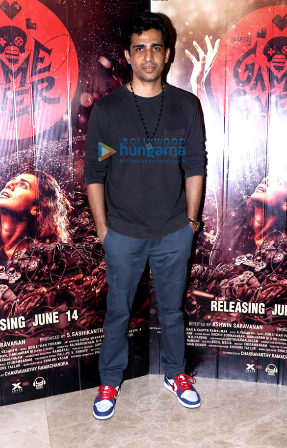 Photos Vicky Kaushal and Gulshan Devaiah grace the special screening of 'Game Over' (2)