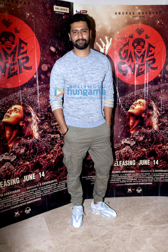 Photos Vicky Kaushal and Gulshan Devaiah grace the special screening of 'Game Over' (3)