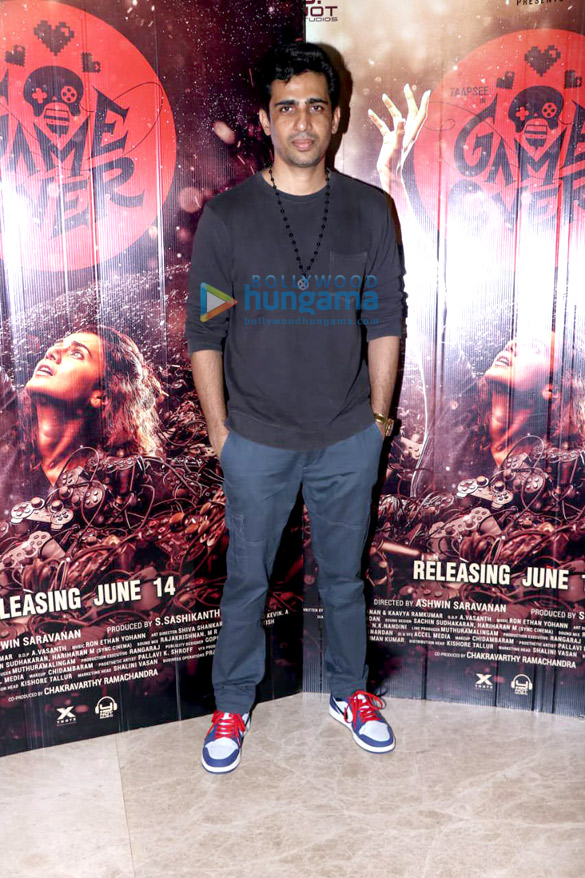 Photos Vicky Kaushal and Gulshan Devaiah grace the special screening of 'Game Over' (4)