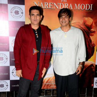 Photos: Vivek Oberoi, Barkha Bishit Sengupta and Darshan Kumaar grace the success party of 'PM Narendra Modi'