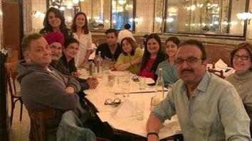 Rishi Kapoor and Neetu Kapoor have dinner with Navya Naveli Nanda and family in New York