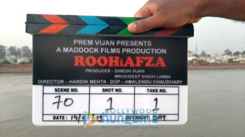 On The Sets From The Movie RoohiAfza