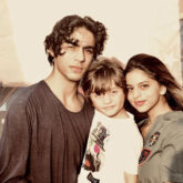 SIBLING GOALS! Shah Rukh Khan shares cute photos of Aryan Khan and Suhana Khan from AbRam Khan's birthday party