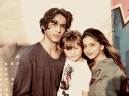 SIBLING GOALS! Shah Rukh Khan shares cute photos of Aryan Khan and Suhana Khan from AbRam Khan's birthday party