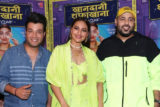 Sonakshi Sinha, Badshah and Varun Sharma spotted promoting their upcoming film Khandani Safakhana