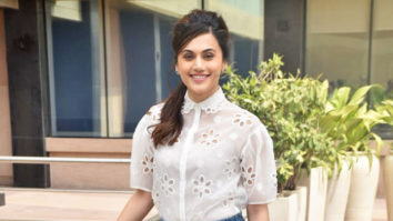 Taapsee Pannu Spotted promoting her film Game Over