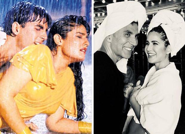 After Akshay Kumar recreated 'Tip Tip Barsa Paani' with Katrina Kaif in Sooryavanshi, Raveena Tandon reacted to it!