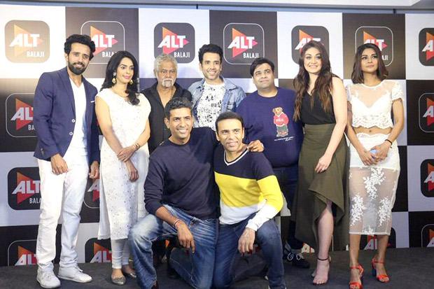 Tusshar Kapoor and Mallika Sherawat make their web series debut with horror comedy Booo Sabki Phategi
