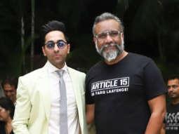 WATCH Ayushmann Khurrana and Anubhav Sinha promoting their film Article 15
