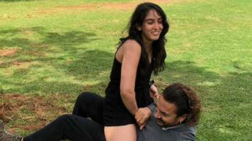 WATCH VIDEO: Ira Khan celebrates Father's Day with Aamir Khan in a fun way