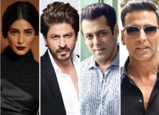 EXCLUSIVE VIDEO: Here's what Shruti Haasan would like to ask Shah Rukh Khan, Salman Khan, Akshay Kumar