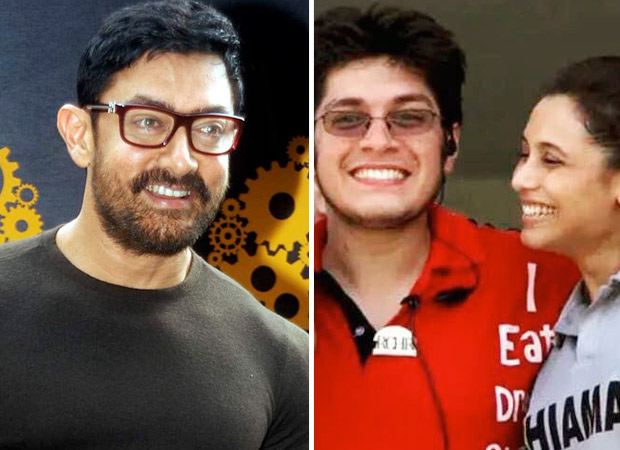 Aamir Khan has the FUNNIEST birthday wish for eldest born Junaid Khan and it has a Rani Mukerji connect! [See photo]
