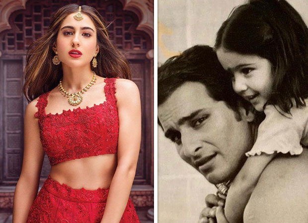 Video of baby Sara Ali Khan playing on the sets of a Saif Ali Khan film is going viral and we are LOVING it!