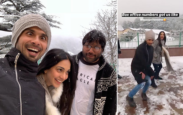 Shahid Kapoor and Kiara Advani celebrate the success of Kabir Singh on Instagram in a funny way!