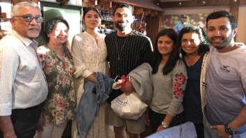 Anushka Sharma - Virat Kohli swarmed by fans in England