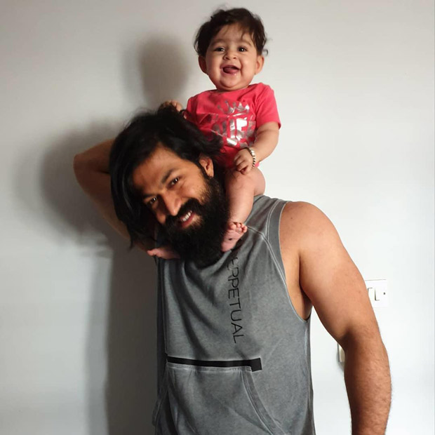 Radhika Pandit shares this 'aww-worthy' photo of Yash and their daughter Ayra and the internet can't stop talking about it!