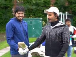 '83: Ranveer Singh and team can't stop laughing as Chirag Patil breaks the bat during net practice