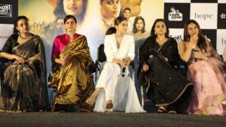 Akshay Kumar, Vidya Balan, Taapsee Pannu and Nithya Menon grace the trailer launch of their film Mission Mangal Part 02