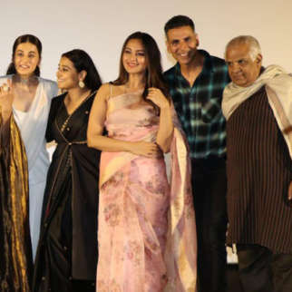 Akshay Kumar, Vidya Balan, Taapsee Pannu and Nithya Menon grace the trailer launch of their film Mission Mangal Part 3