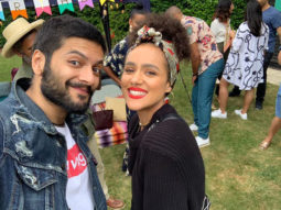 Ali Fazal catches up with Fast And Furious 7 co-star Nathalie Emmanuel