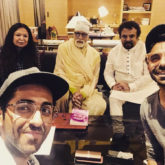 Amitabh Bachchan's picture with Gulabo Sitabo costar Ayushmann Khurrana and his family is adorable!