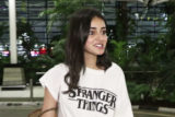 Ananya Panday spotted at Mumbai Airport