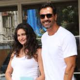 And it's a baby boy for Arjun Rampal and Gabriella Demetriades