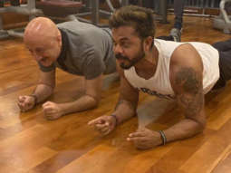 Anupam Kher and Sreesanth are now gym buddies and they can't stop gushing about each other!