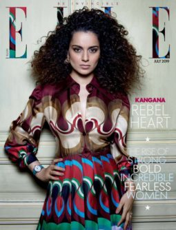 Kangana Ranaut On The Covers Of Elle