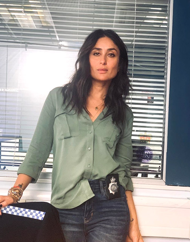 FIRST LOOK: Kareena Kapoor Khan transforms into a cop for Irrfan Khan starrer Angrezi Medium