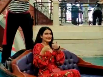 Fatima Sana Shaikh Goes On a Gondola Ride in Macao #FatimaKaHungama