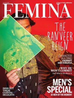 Ranveer Singh On The Cover Of Femina
