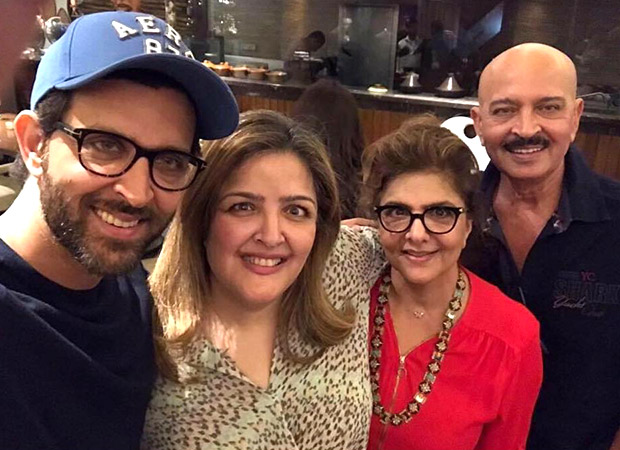 Hrithik Roshan plays MEDIATOR; brings PEACE to the Roshan Family