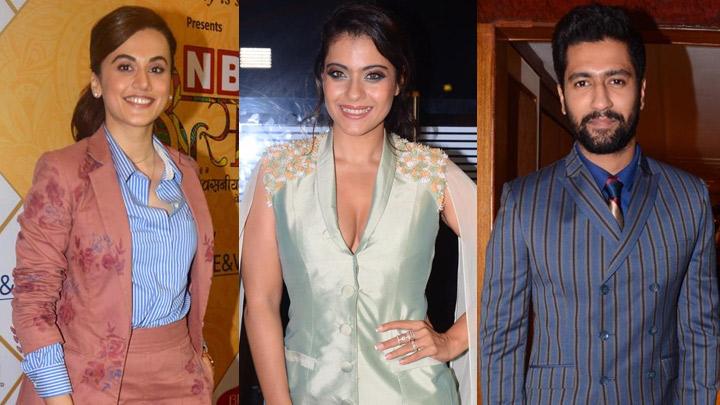 Kajol, Taapsee Pannu, Vicky Kaushal & others at Utsav Awards 2019