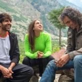 Kartik Aaryan CRIED on the sets of Imtiaz Ali's next as he hugs his director post the last scene