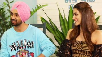 """LOL Kriti On Diljit's Tricky Smile- """"Samajh Mein Hi Nahi Aata Ki Sarcastic Hai Ya…"""" Arjun Patiala"""