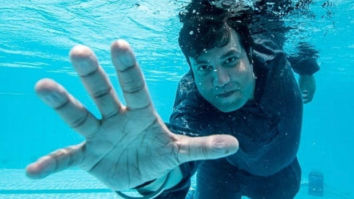 PHOTOS: Varun Sharma shares underwater glimpses from Kriti Sanon and Diljit Dosanjh starrer Arjun Patiala!