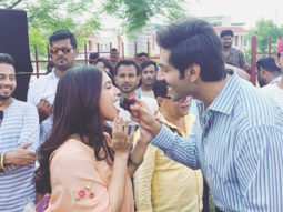 Pati Patni Aur Woh: Bhumi Pednekar celebrates her birthday on the sets with Kartik Aaryan and Ananya Panday