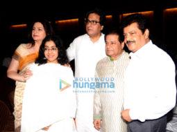 Photos: Celebs attend prayer meet of Anup Jalota's mother Kamla Jalota