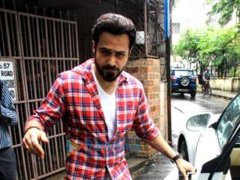 Photos: Emraan Hashmi spotted at Shankar Mahadevan's dubbing studio