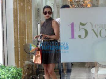 Photos Malaika Arora spotted at a salon in Bandra (3)