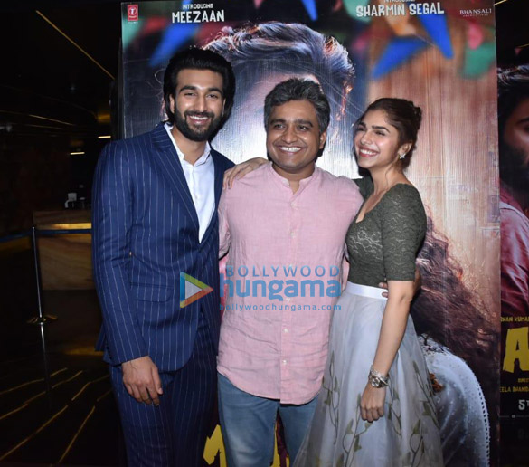 Photos Meezaan Jaffrey and Sharmin Segal grace the special screening of 'Malaal′ (6)