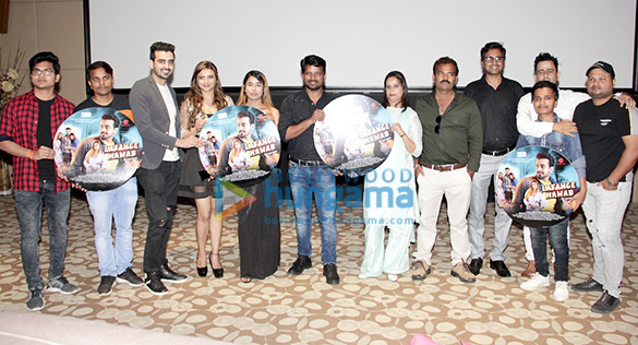 Photos: Music launch of murder mystery film – Lafange Nawaab