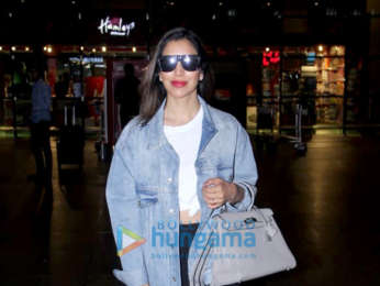 Photos Ranbir Kapoor, Alia Bhatt, Nora Fatehi and Sophie Choudry snapped at the airport last night