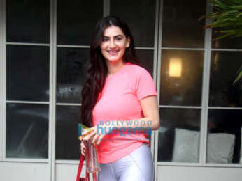 Photos: Shivaleeka Oberoi snapped outside the gym