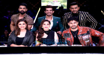 Photos: Sidharth Malhotra, Parineeti Chopra, Madhuri Dixit and others snapped promoting Jabariya Jodi on sets of Dance Deewane