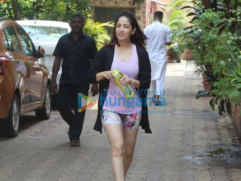 Photos: Yami Gautam spotted at Diva Yoga
