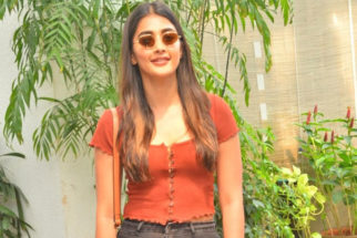 Pooja Hegde spotted at Sunny Super Sound for dubbing