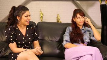 ROFL Nora Fatehi-Tulsi Kumar's FUNNIEST Rapid Fire On SRK, Salman, Varun, Katrina O Saki Saki